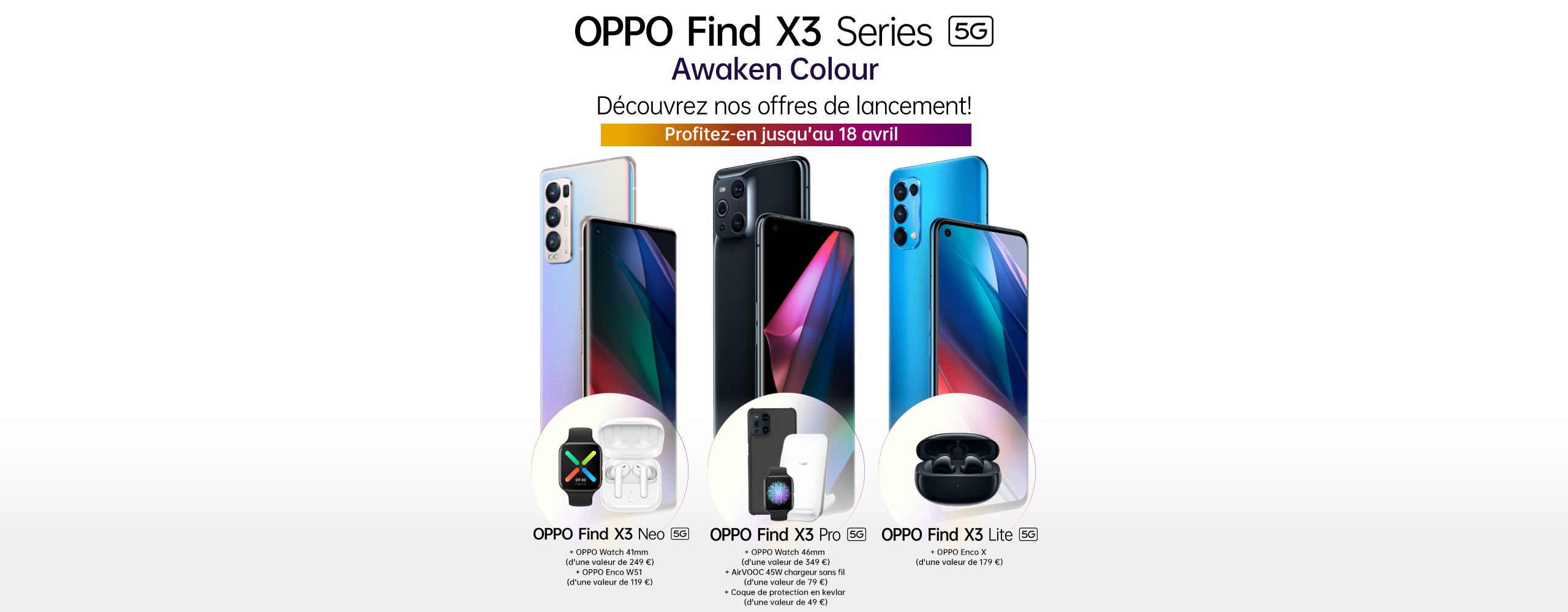 OPPO Find X3 Series 5G - Launch Offer