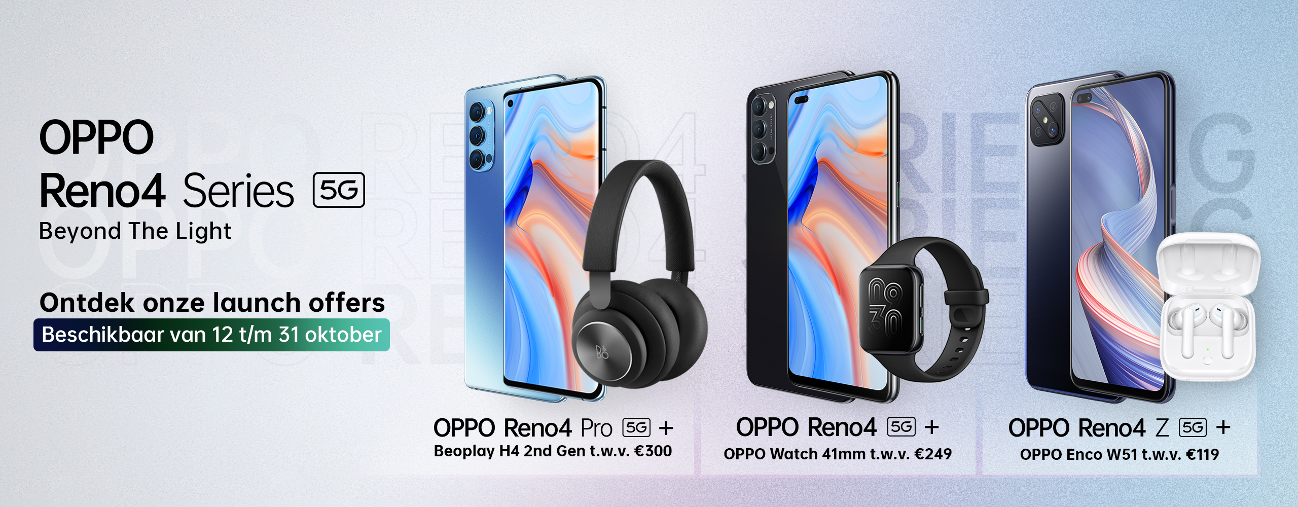 OPPO Reno4 Series 5G - Launch Offer